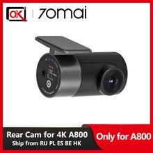 70mai kamera cofania tylko dla 70mai 4K kamera na deskę rozdzielczą A800 wideorejestrator samochodowy kamera cofania