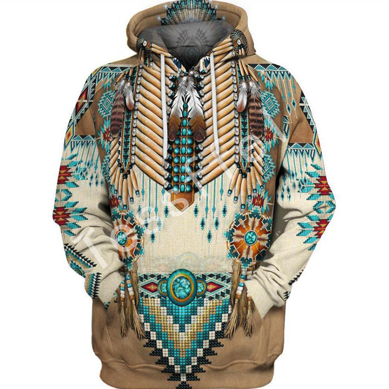 Tessffel Native Indian New Fashion Harajuku 3D Full Printed Hoodie/Sweatshirt/Jacket/Men Women Hiphop Casual Fit Style-2