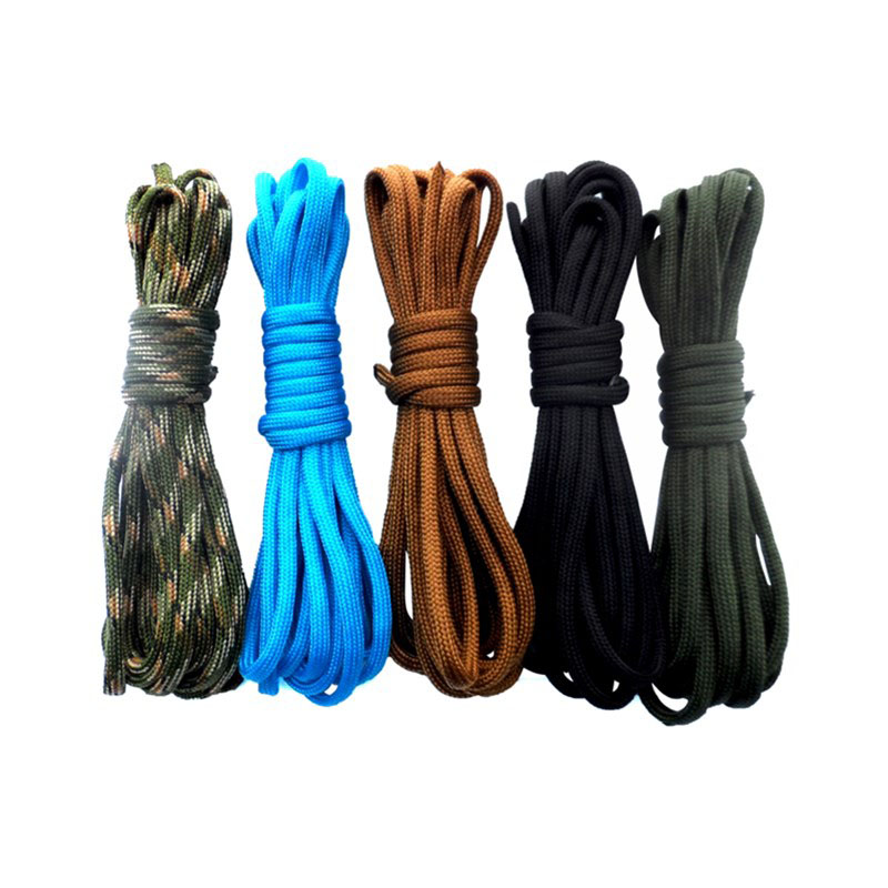 30m Paracord Rope 550 Parachute Camping Outdoor Cord Lanyard Rope 7 Strand 100FT  Paracord Cord Rope Survival Kit Wholesale