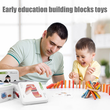 лучшая цена Kids Montessori Infant Toys Wooden Toys Building Block Disassembly Early Learning Intelligence Cognitive YJS Dropship
