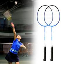 1 Set CH85 CROSSWAY Badminton Rackets Comfortable to Grip Multi-color Professional Attack Type Badminton Rackets for Outdoor