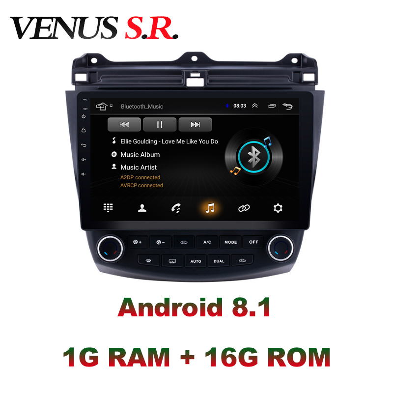 IDOICT <font><b>Android</b></font> 8.1 Car DVD Player GPS Navigation Multimedia For <font><b>Honda</b></font> <font><b>Accord</b></font> 7 <font><b>Radio</b></font> <font><b>2004</b></font>-2007 car stereo image