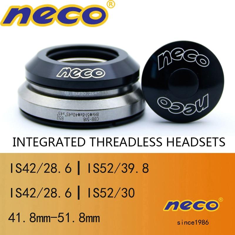 "ZTTO 4252ST MTB Bike Headset 42mm 52mm 1 1//8/""-1 1//2/"" Tapered Tube fork Straight"