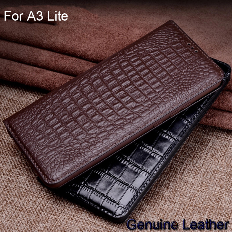 Luxury Genuine Leather flip For Xiaomi Mi A3 Lite Leather Half pack phone case For Xiaomi Mi A 3 Lite phone cases shockproof