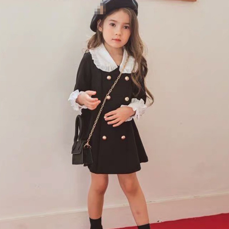 Mihkalev Family Matching Clothes Monther And Girl Spring Dresses Kids Dresses For Girls Long Sleeve Dress Children Clothing