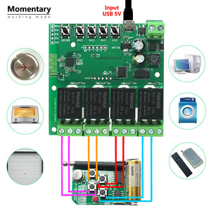 Image 4 - Tuya Wifi Relay 12v Module 4CH Wireless Switch Smartlife APP Remote Control Smart Timer for Smart Home with Alexa Google Home
