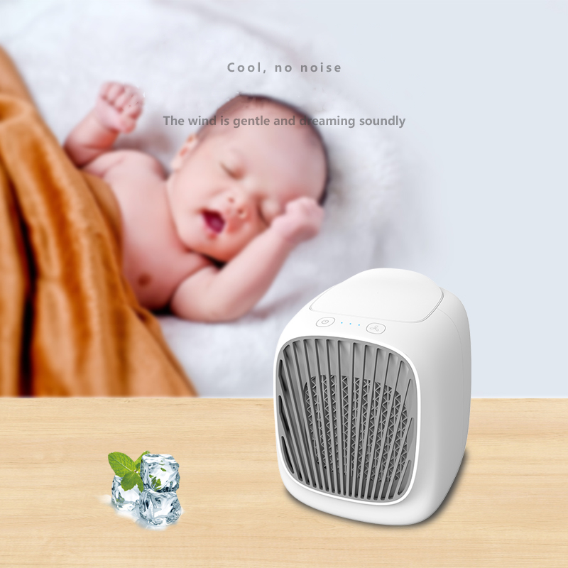 1Pcs Air Cooling Conditioner Small Air Conditioning Appliances Mini Fans Air Cooling Fan Summer Portable Conditioner Ht