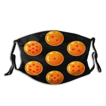 7 Dragonballs face maks fashion masque adulte lavable washable reusable face mask adult mouth mask with design funny image