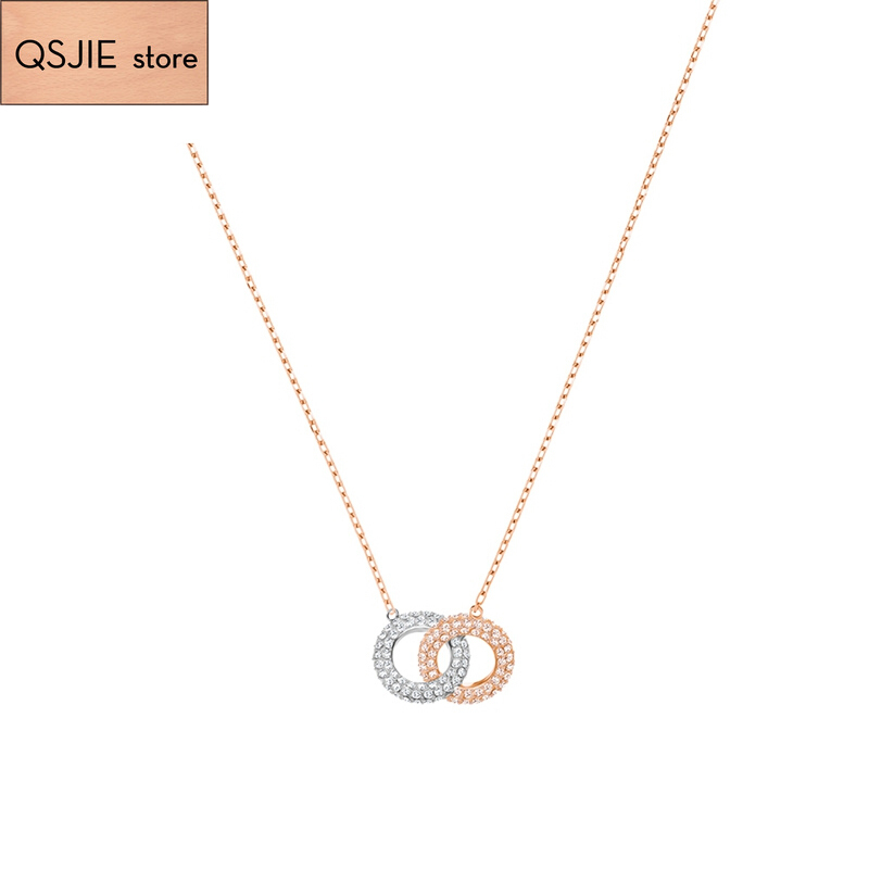 High Quality SWA Original Model 1:1 Produces Version Two  Dressed Womens Necklaces