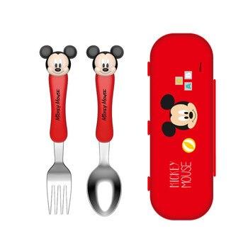 Disney children's chopsticks training chopsticks baby learning practice chopsticks baby auxiliary spoon fork cutlery set