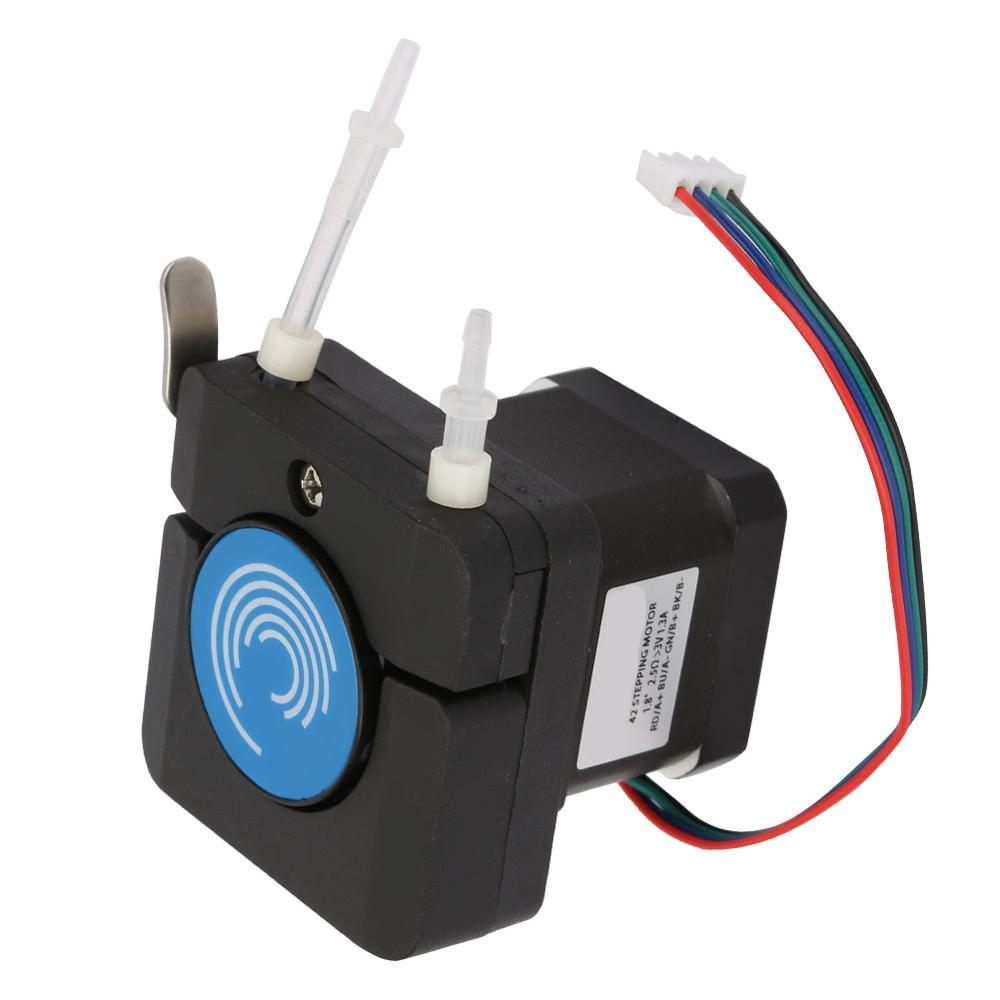 12-24V Large Flow Micro Anti-Corrosion Peristaltic Pump with Stepper Motor Low Noise Peristaltic Pump