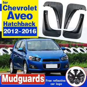 Автомобильные Брызговики для Chevrolet Aveo Sonic TM Barina хэтчбек 2012-2016 Брызговики 2013 2014 2015