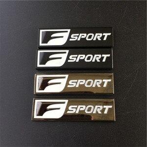 Универсальный металлический F спортивный логотип эмблема дверь наклейка значок автомобиля 3D наклейка подходит для Lexus IS 250 350 GS 350 450