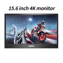 Portátil 15.6 polegadas 2-em-1 hd display 3840x2160 com USB-C hdmi dp otg porto para xiaomi ps4/pc/raspberry pi/switch