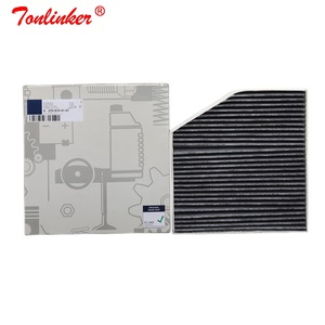 Image 2 - Cabine Filter A2058350147 1Pcs Voor Mercedes Benz C CLASS W205 A205 C205 S205 2013 2019 Model Auto Carbon Air airconditioning Filter