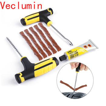Vacuum Car Tire Repair Tool Kit Auto Tubeless Professional Accessories Universial Cars