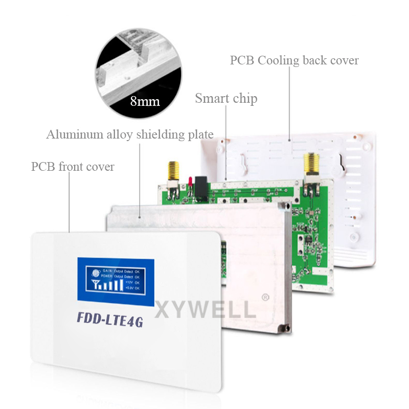 70dB Gain cellular signal booster 1800 gsm repeater FDD LTE GSM 1800Hz Band3 4G DCS LTE 1800 Mobile Signal Booster 4G Amplifier 3
