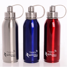Thermal Water Bottle Sports Stainless Steel Double Wall Portable Outdoor Vacuum InsulationFlasks 800ML/1000ML  50UU112