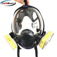 Chemical mask 6800 Gas Mask acid dust Respirator Paint Pesticide Spray Silicone filter Laboratory cartridge welding