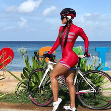 jumpsuit ride bicycle women 2019 aero suit MTB bike cycling jersey swim skate tights triathlon pro team race sexy skinsuit