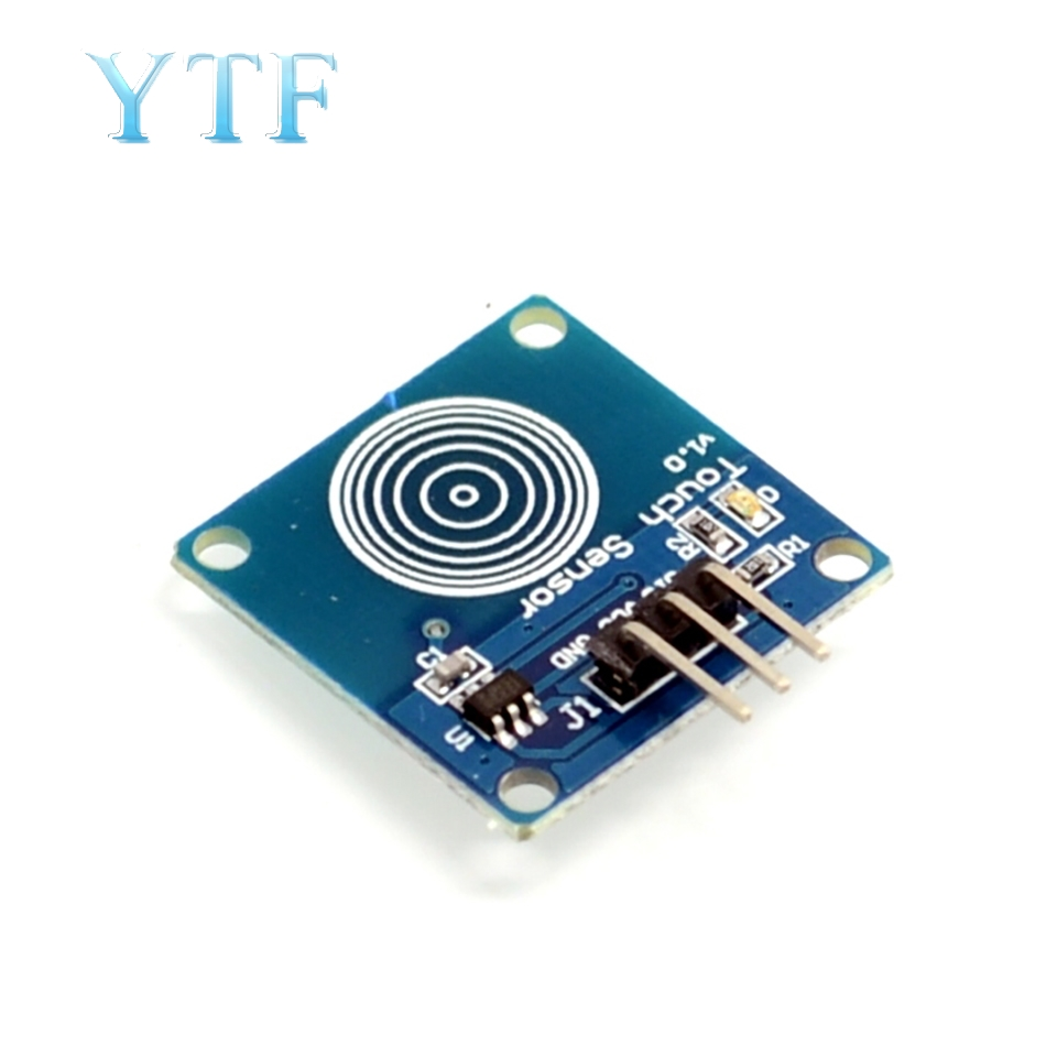TTP223B 1 Channel Jog Digital Touch Sensor Capacitive Touch Touch Switch Modules Accessories For 5pcs/1lot