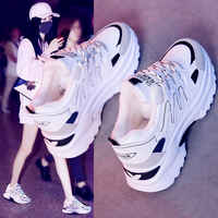 2020 New Women's Winter Sneakers Warm Fur Chunky Sneakers Platform Plush Casual Shoes Woman Comfort Ladies Wedge Feamle