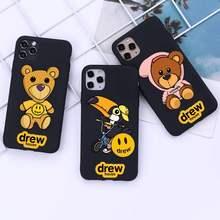 Nette marke Drew Haus Justin Bieber Telefon Fall für iphone 12 pro max mini 11 pro XS MAX 8 7 6 6S Plus X 5S SE 2020 XR fall