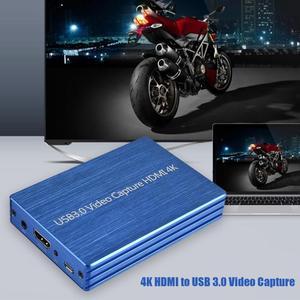 Image 4 - ALLOYSEED 4K HDMI to USB 3.0 HDMI 비디오 캡처 카드 Dongle 1080P 60FPS HD 비디오 레코더 게임 스트리밍 라이브 스트림 방송