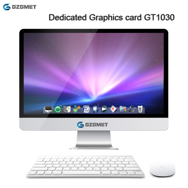 27 Inch All In One Pc Dedicated  Graphics Card GT1030 Windows 10 Computer Intel I7 I5 Core Wifi Desktop Pc