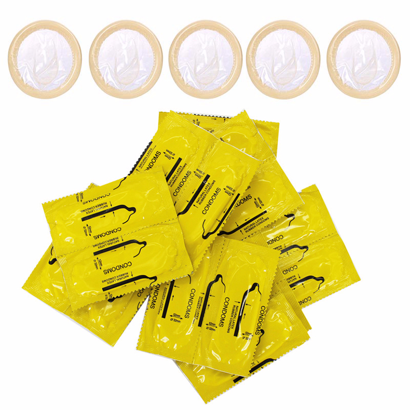 50pcs/45pcs/35pcs <font><b>Bulk</b></font> Condom Best Quality Condoms with Full Oil Time Delay Condom for Safe Contraception for Men image
