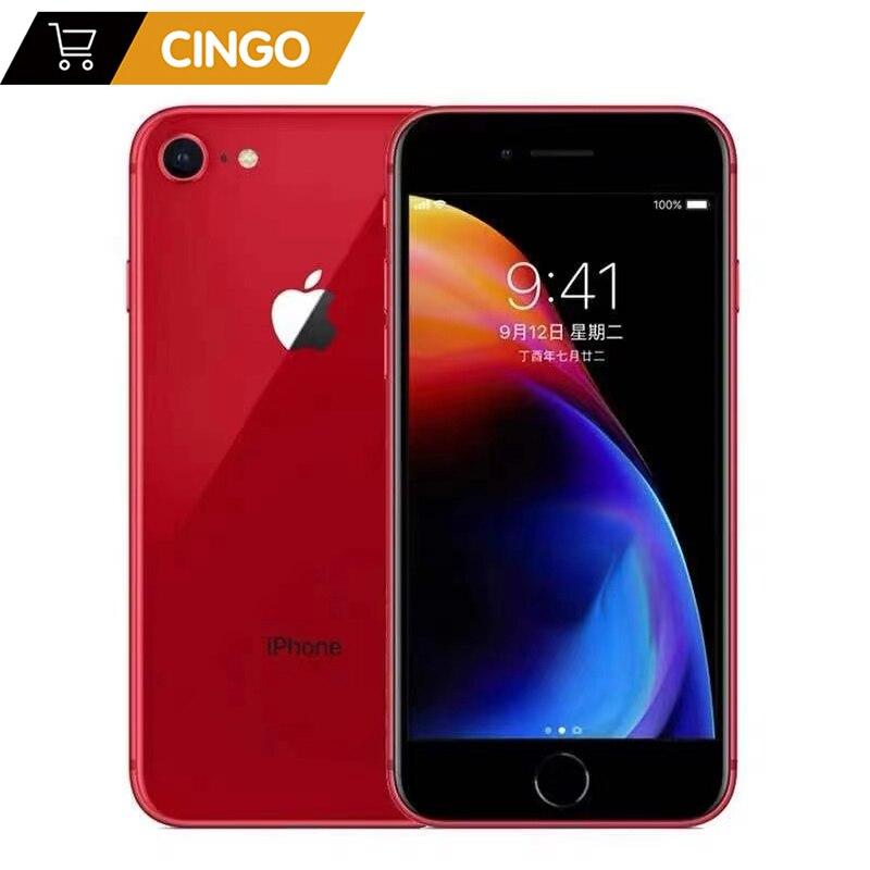 Оригинальный разблокированный Apple iPhone8 2 Гб ОЗУ 64 Гб/256 Гб ПЗУ выглядит как новый 4,7 дюймов шестиядерный Touch ID LTE 12,0 M NFC