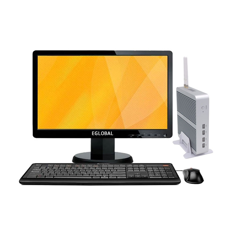 Eglobal Gaming Desktop Pc DDR4 Intel Core I5-8250U System Unit Computer VGA HD LAN 8USB Mini Pc
