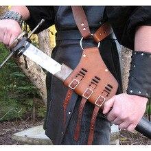 Средневековый наплечный ремень, держатель для меча, ножны, скаббард, лягушка, для взрослых мужчин, рыцарский костюм с оружием, снаряжение, Рапира, кольцо, ремень, кобура