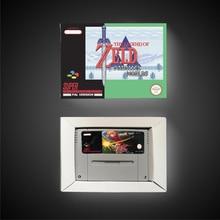האגדה של Zeldaed מקביל עולמות EUR גרסה RPG משחק כרטיס סוללה לחסוך עם תיבה הקמעונאי