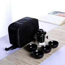 Dehua Kung Fu Tea Set Travel Tea Set Ceramic Whole Set Tea Pot Tea Cup Gift Tea Set стоимость