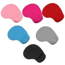 Office Mousepad with Gel Wrist Support Ergonomic Gaming Desktop Mouse Pad Rest