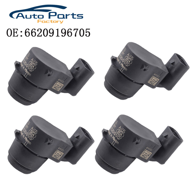 4 PCS New High Quality PDC Parking Sensor For BMW E81 E82 E88 E90 E91 E92 E93 E84 66209196705 9196705 66206934308