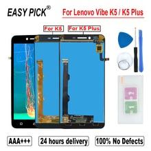 For Lenovo Vibe K5 Plus A6020A46 A6020l36 a6020l37 LCD Display Touch Screen Digitizer Assembly For Lenovo K5 A6020A40 A6020a41