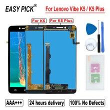 Pour Lenovo Vibe K5 Plus A6020A46 A6020l36 a6020l37 LCD écran tactile numériseur assemblée pour Lenovo K5 A6020A40 A6020a41