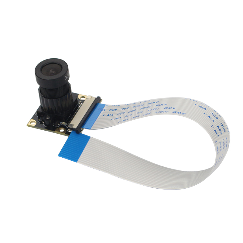 Raspberry Pi 3B+ 5Mp Megapixel Night Camera Ov5647 Sensor Fisheye Wide-Angle Camera Module For Raspberry Pi 3 Model B/2