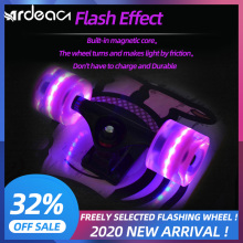 ARDEA flashing wheel skate board long board longboard skateboard solid wheel free Freely selected color