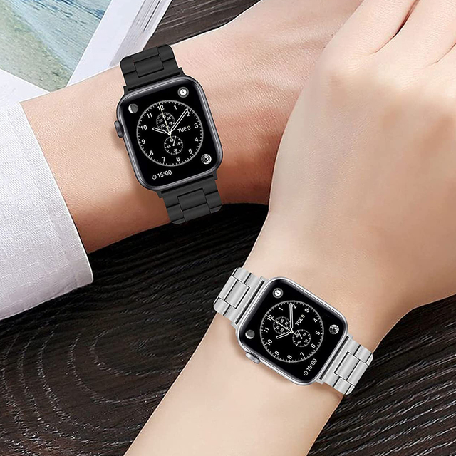 Wristband for apple watch 40mm 44mm band 38mm 42mm soft case stainless steel watchband bracelet for iwatch se 6 5 4 3 2 1 strap