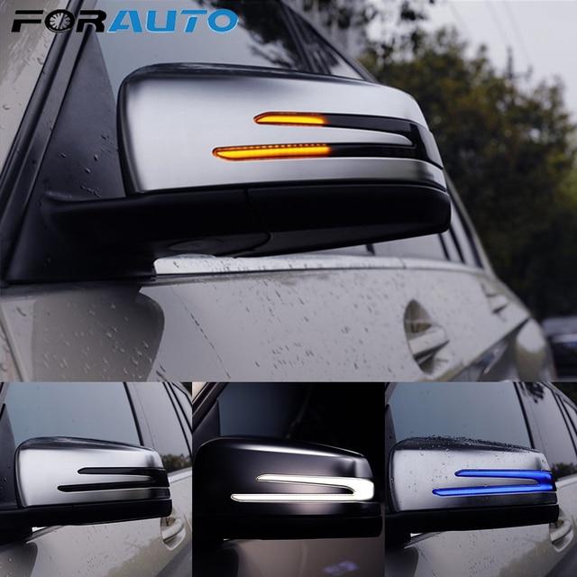 1 pair Blinker Lamp For W221 W212 W204 W176 W246 X156 C204 C117 X117 Car Rear View Mirror Light LED Indicator Turn Signal Light
