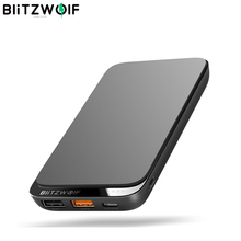 BlitzWolf BWP10 10000mAh QC3.0 PD18W Power Bank 10W Wireless Charger with 4 Outputs for iPhone XS for Switch for XIAOMI S10 S10+