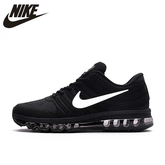 US $47 43 63% OFF|Hot Sale NIKE Air MAX 2017 Nike Running shoes full palm  nano Disu technology Sports Men shoes hot Sneakers 40 45-in Running Shoes