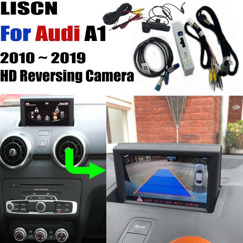 car rear camera For Audi A1 8X 2010   2019 backup Camera Interface Original Screen upgrade Decoder Reversing camera DVR