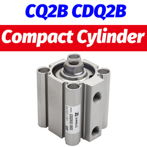 CDQ2B32-20DZ Compact Cylinder Double Acting Single Rod CQ2B32-75DZ With auto switch stroke 5-100mm CQ2A32-30DCZ CDQ2A32-50DZ-M9B()
