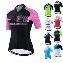 Bike Jersey Bicycle-Shirt Cycling-Wear Women's Anti-Uv Uniform Mtb-Tops Biking Pro-Team
