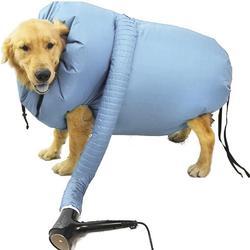 Portable Pet Drying Bag Folding Dogs Hair Dryer Blow Bag Grooming Bag Pet Dry bag Cat Blow Pet dog dryer Blue фен для волос фен
