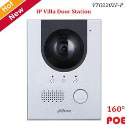 Dahua IP Villa, estación de Puerta 2MP CMOS, cámara de visión nocturna, indicador de voz, ángulo de visión de 160 °, compatible con POE, accesorio de timbre de vídeo